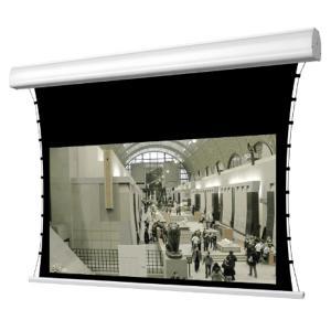 Écrans de projection électriques avec système de tension latérale