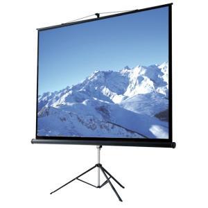 Écrans de projection Sur trépied , avec système d'élimination de l'effet keystone