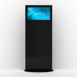 ToTem Publicitaire -Borne Digitale- Noir en 4K