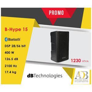 EN PROMO: Baffles portables & Amplifiée DB TECHNOLOGIES