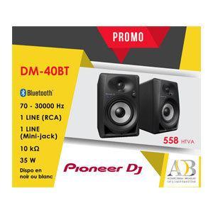 EN PROMO: ENCEINTE DE MONITORING PIONEER DJ DM-40 BT (LA PAIRE) PIONEER