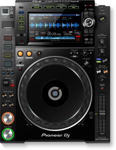 Lecteur multi-formats pro-DJ avec prise en charge de fichiers audio haute résolution