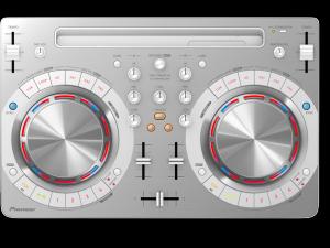 DDJ-WEGO3-W Contrôleur logiciel DJ compact et multicolore