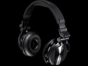 HDJ-1500-K Casque professionnel pour DJ (chrome noir)