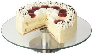 Présentoir à Gâteau Inox