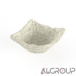 Ramequin Simple Granite Blanc