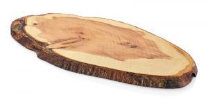 Planche Ovale Effet Bois en Melamine