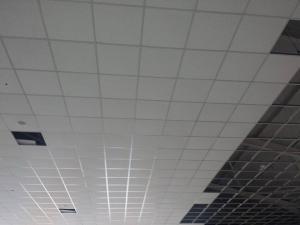 plafond  modulaire suspendu