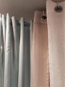 rideau tissu avec des œillet rond
