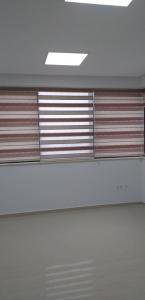 rideaux  zebra à l'interieure