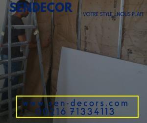 cloison de s paration isolation phonique et thermique tunisie. Black Bedroom Furniture Sets. Home Design Ideas