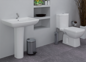Ensemble sanitaire (cuvette + lavabo)