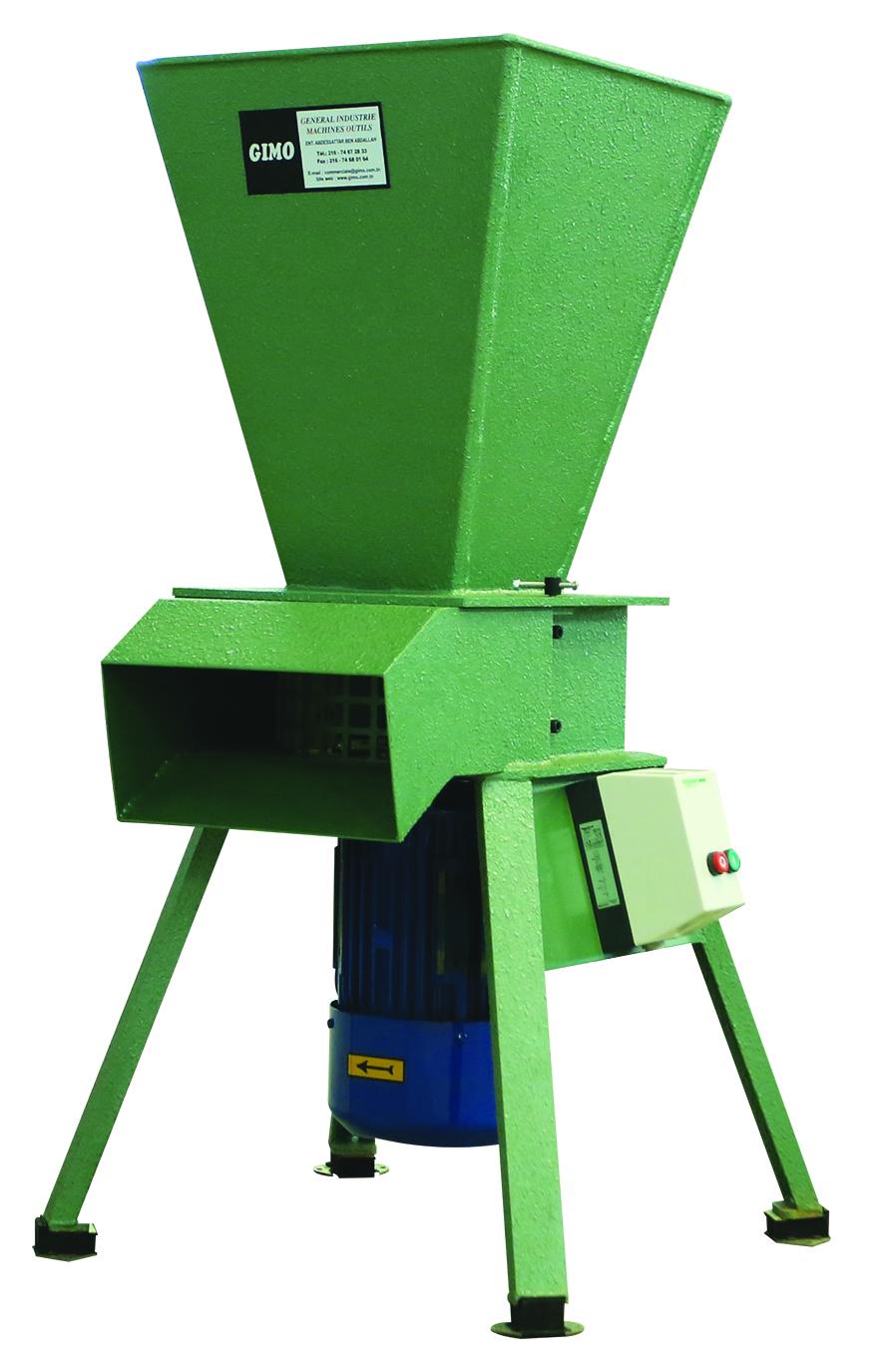 Machine à broyer la mousse