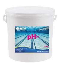 pH moin en granulé et en liquide.