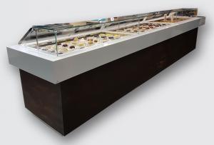 3 VITRINES 524,5 cm  pour pâtisserie Marque GELATEC