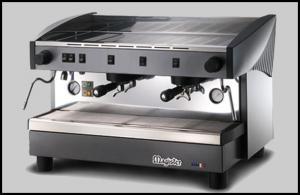 Machine à café modèle MS100 2/3 GROUPES semi-automatiques