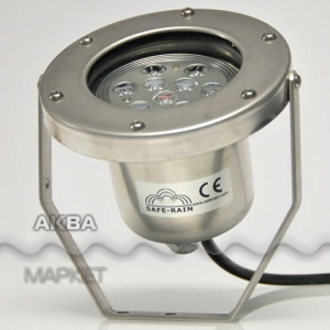 Safe-Rain Light Fixture RGB Cree 06 W 12
