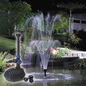 Pompe pour fontaine et jet deau