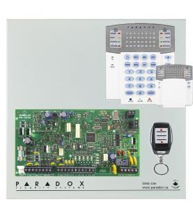 Paradox>> Kit MG 5050+Clavier K32+Télécommande REM 15