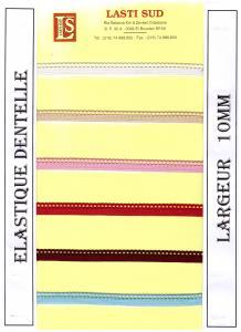 Élastique dentelle