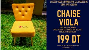 Chaise Viola GERC