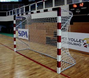 But de Handball en Aluminium
