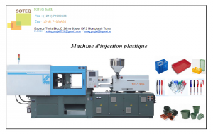 Machine d'injection plastique