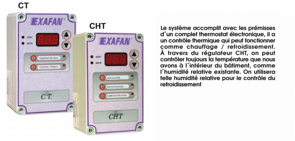 Régulateur CT&CHT