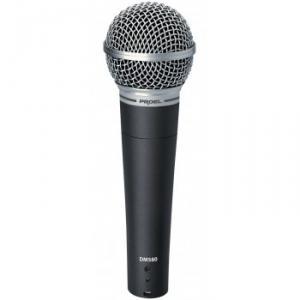 Microphone de sc�ne dynamique pour chant et voix DM580
