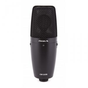 USB microphone à condensateur CM12USB