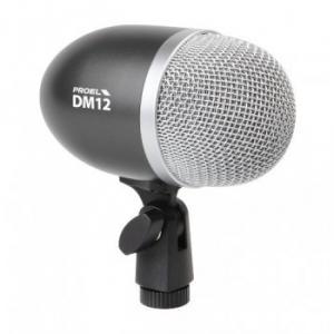 Microphone dynamique  professionnel  pour grosse caisse ou instrument grave DM12