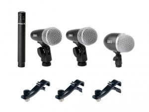 5pcs kit de batterie de microphone DMH5XL