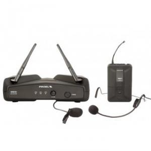Système sans fil  avec  Micros cravate ou serre-tête  récepteur  Diversity UHF fréquence fixe contrôlée par Quartz