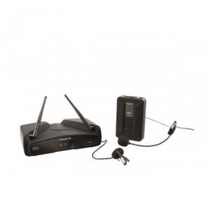 Ensemble  micro serre-tete  VHF  fréquence fixe WM100H