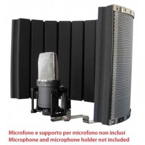 Lightweight recording/home studio acoustic diffuser screen
