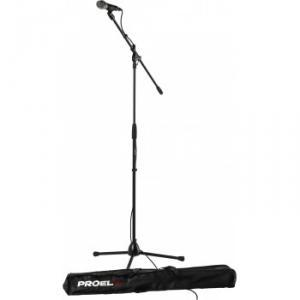 Pack qui dispose d'un microphone et d'accessoires connexes