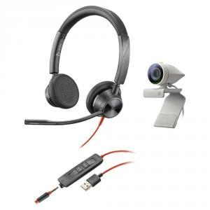Poly Studio P5 avec Blackwire 3325 USB-A
