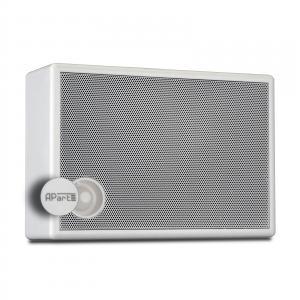 SM6V-W haut-parleur mural avec contr�le de volume blanc, 6 watts 100 volts