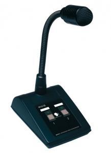 MICPAT-2  Pupitre Microphone dappel Dynamique    2 Zones