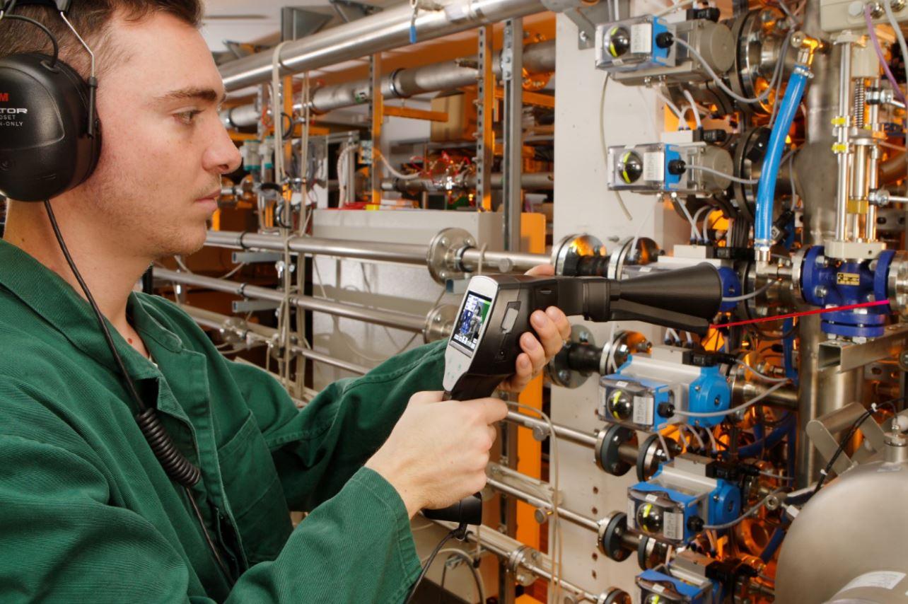 Détection des fuites d'Air comprimé, Vide, Gaz et vapeur