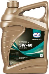 Lubrifiants : EUROL SYNTO-V 5W40