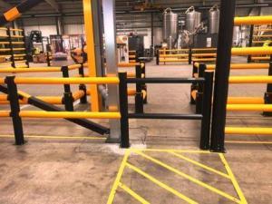 Barrière de sécurité, portail de sécurité, clôture de sécurité