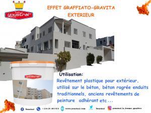EFFET GRAFFIATO -GRAVITA
