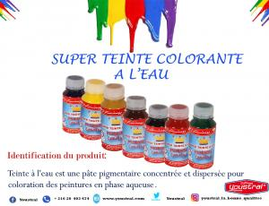 super teinte colorante a l'eau