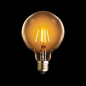 LAMPE LED GLOBE 95 SMOKED FILAMENT 4W