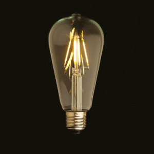 LAMPE LED VINTAGE SMOKED FILAMENT