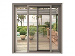 Portes fenêtre coulissante en aluminium