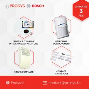 Centrale d'alarme Easy all in one Bosch
