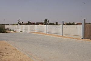 Mur béton préfabriqué tunisie