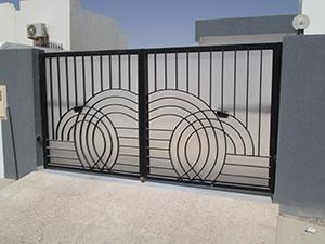 Portails et portes d'entrée